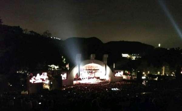 Hollywood Bowl, vak: U2, rij: 3, stoel: 111