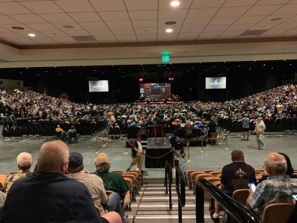 The Special Events Center at the Fantasy Springs Resort Casino, vak: VV, rij: K, stoel: 10