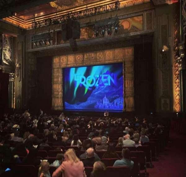 Hollywood Pantages Theatre, vak: Orchr, rij: XX, stoel: 16