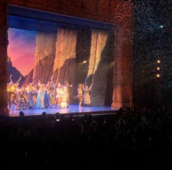 Hollywood Pantages Theatre, vak: Orchlc, rij: Y, stoel: 314