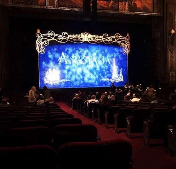 Hollywood Pantages Theatre, vak: Orchlc, rij: U, stoel: 301