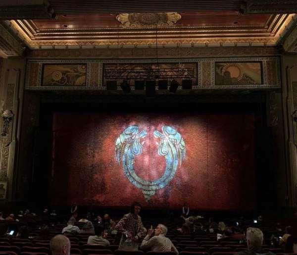 Hollywood Pantages Theatre, vak: Orchc, rij: NN, stoel: 105