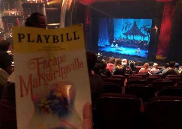 Dolby Theatre, vak: Mez1r, rij: L, stoel: 4