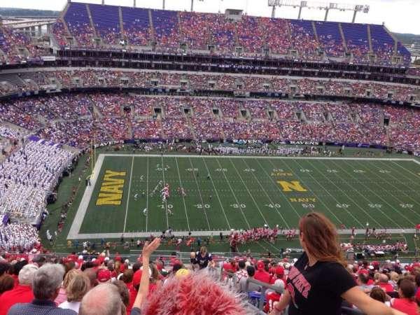 M&T Bank Stadium, vak: 503, rij: 24, stoel: 1