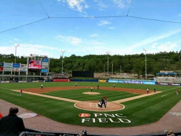 PNC Field, vak: 21, rij: 12, stoel: 15