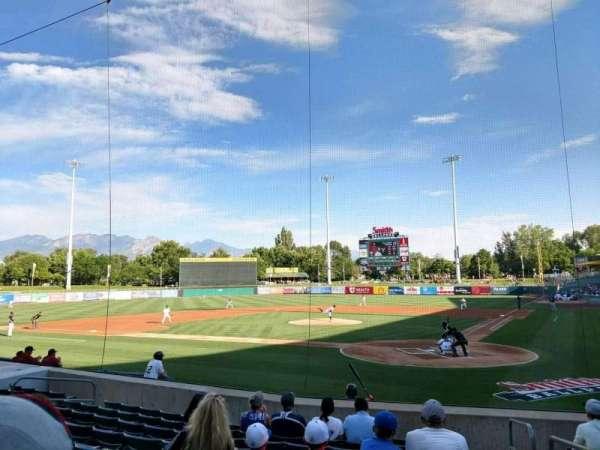 Smith's Ballpark, vak: 15, rij: 12, stoel: 1