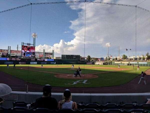 Greater Nevada Field, vak: 109, rij: 11, stoel: 5