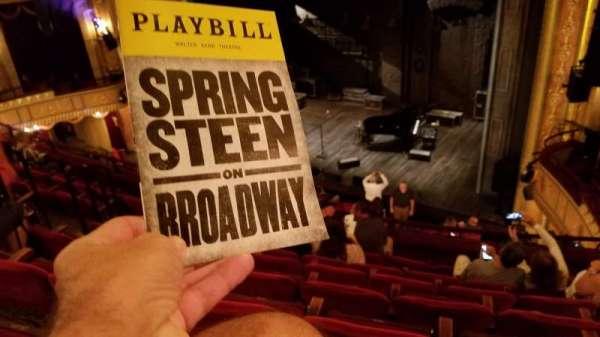 Walter Kerr Theatre, vak: Mezzanine R, rij: F, stoel: 18