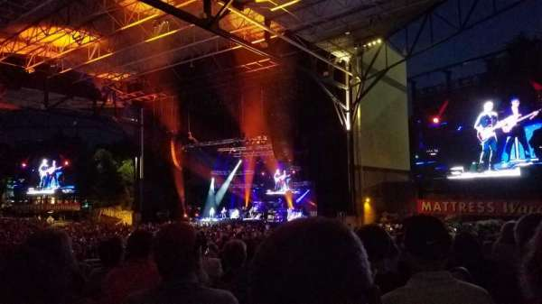 Jiffy Lube Live, vak: 201, rij: K, stoel: 40