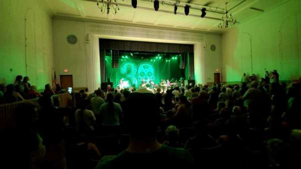 Maryland Hall For Creative arts, vak: orchestra, rij: N, stoel: 120