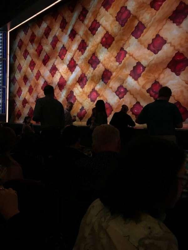 Brooks Atkinson Theatre, vak: ORCH, rij: E, stoel: 12