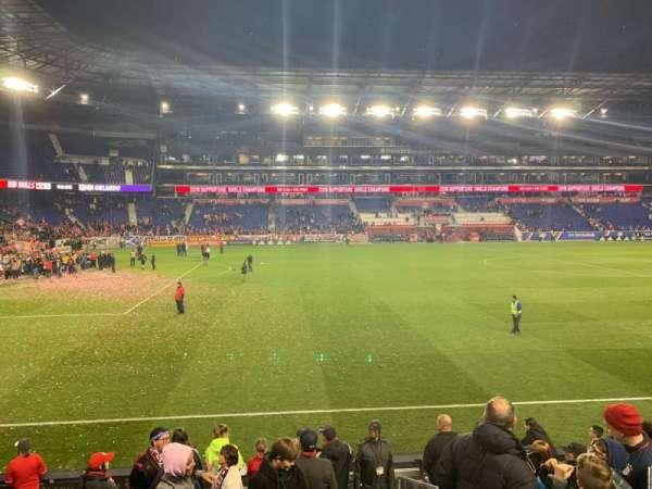Red Bull Arena, vak: 128, rij: 9, stoel: 1