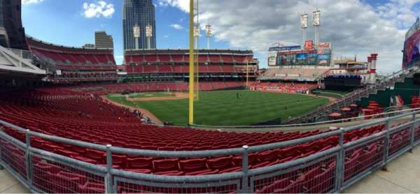 Great American Ball Park, vak: SRO