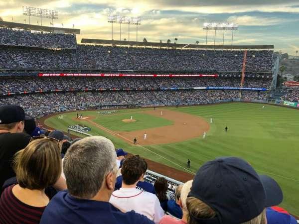 Dodger Stadium, vak: 40RS, rij: E, stoel: 11