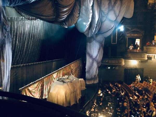 Majestic Theatre, vak: Box F, stoel: 3