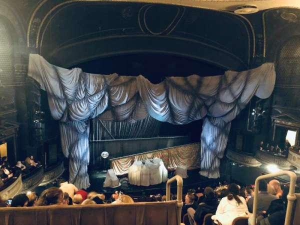 Majestic Theatre, vak: Rear Mezzanine LC, rij: A, stoel: 119