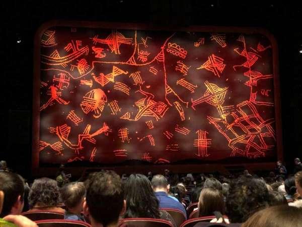 Minskoff Theatre, vak: Orchestra C, rij: T, stoel: 108