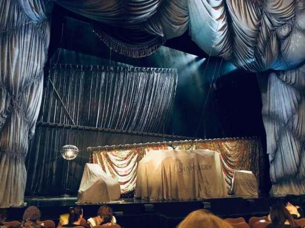 Majestic Theatre, vak: Orchestra L, rij: E, stoel: 5