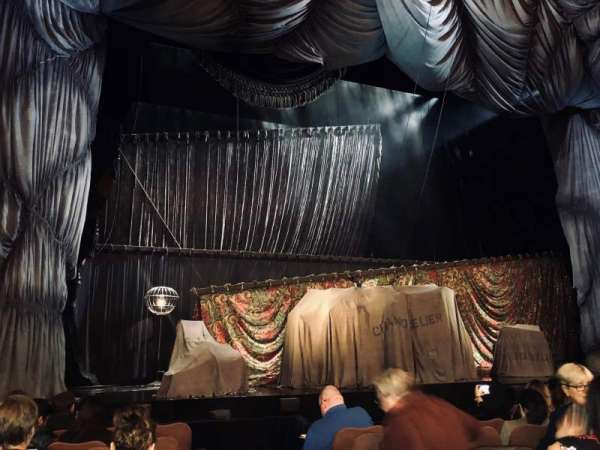 Majestic Theatre, vak: Orchestra L, rij: E, stoel: 1