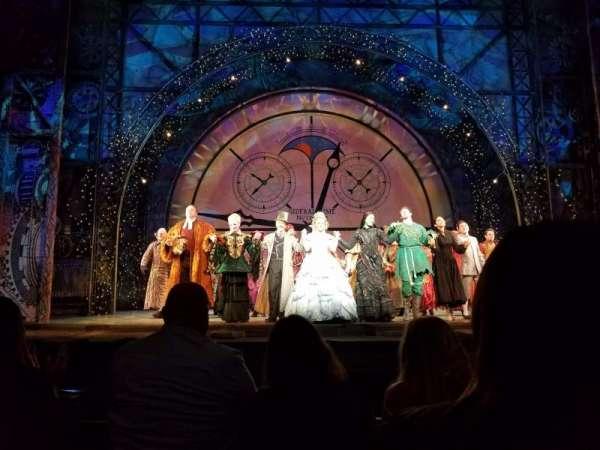 San Diego Civic Theatre, vak: Orch., rij: B, stoel: 5