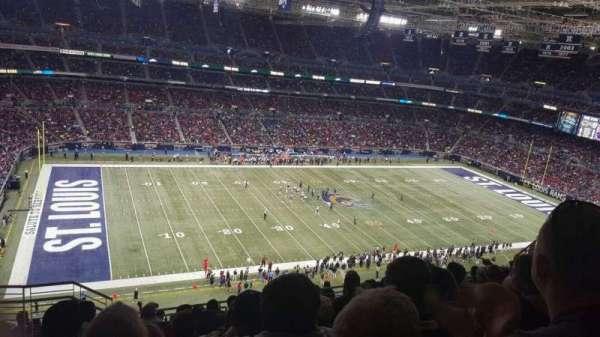 The Dome at America's Center, vak: 417, rij: II, stoel: 21