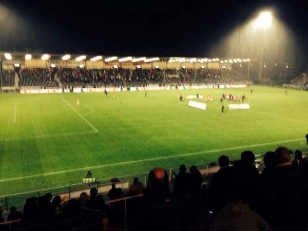 Stade Raymond Kopa, vak: Jean bouin Premiere Escalier 2, rij: V, stoel: 26
