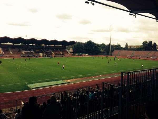 Stade Dominique Duvauchelle, vak: Parcage Visiteur, rij: Placement Li, stoel: -