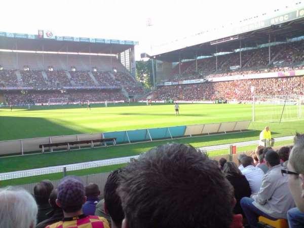 Stade Bollaert-Delelis, vak: Delacourt niveau 0, rij: 11, stoel: 21