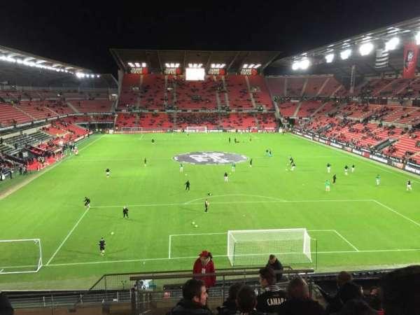 Roazhon Park, vak: Ville De Rennes, rij: Y, stoel: 44-6