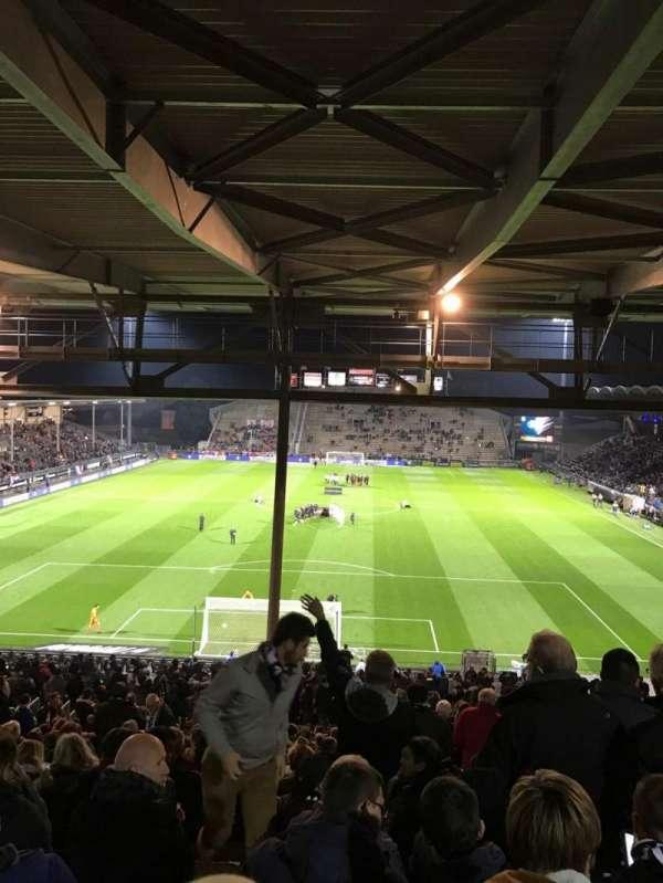 Stade Raymond Kopa, vak: Coubertin C, rij: AL, stoel: 132