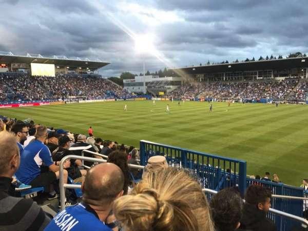 Stade Saputo, vak: Sud, rij: 120, stoel: N28