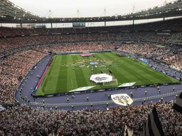 Stade de France, vak: Nord Haute, rij: L15, stoel: 67-1