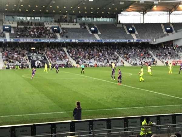 Le Stadium de Toulouse, vak: Sud, rij: F, stoel: 123