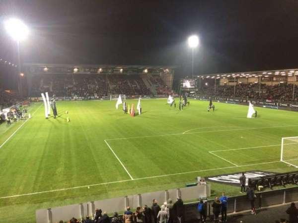 Stade Raymond Kopa, vak: Colombier, rij: T, stoel: 24