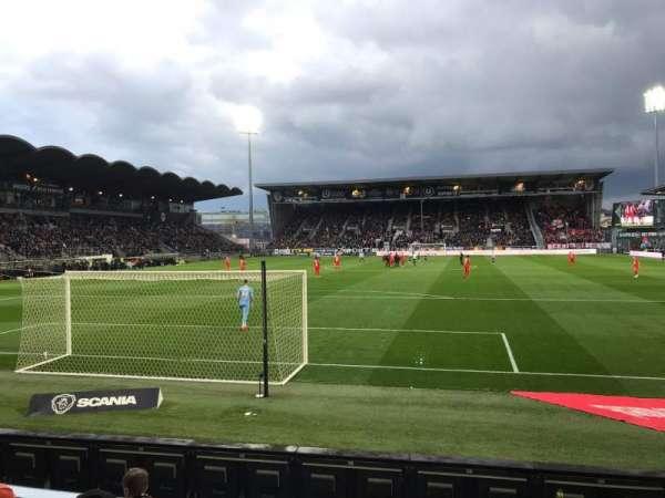 Stade Raymond Kopa, vak: Colombier, rij: D, stoel: 30