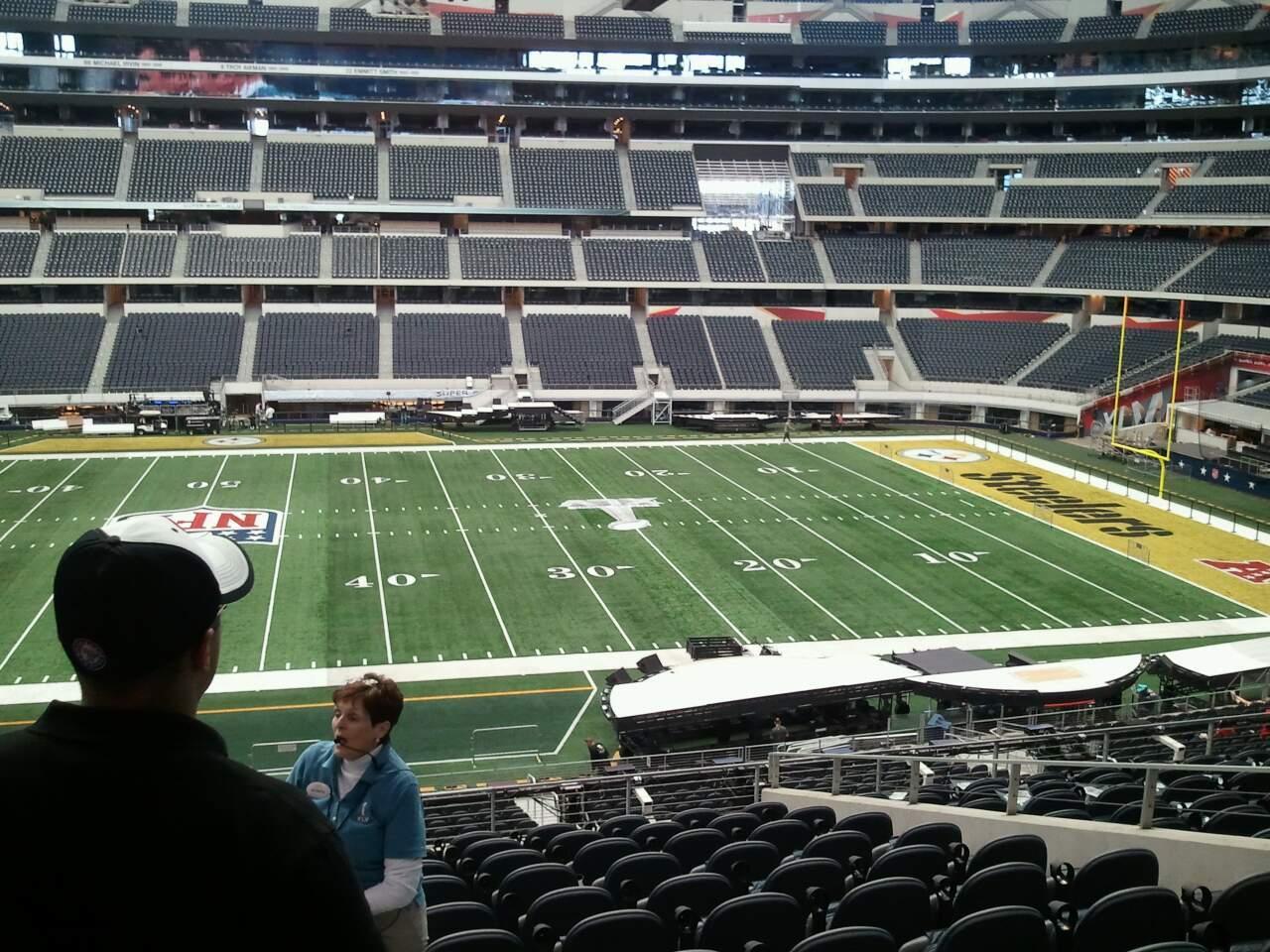 AT&T Stadium Vak C210 Rij 9 Stoel 20