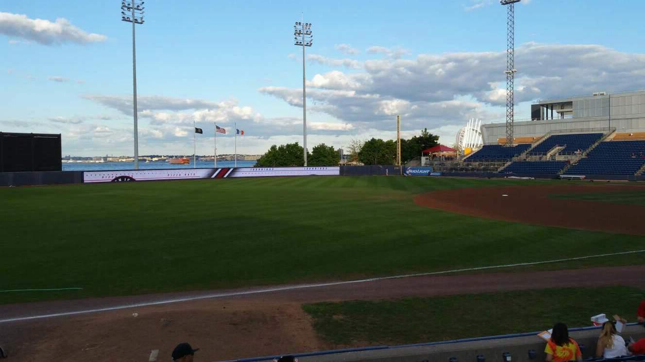 Richmond County Bank Ballpark Vak 3 Rij K Stoel 22