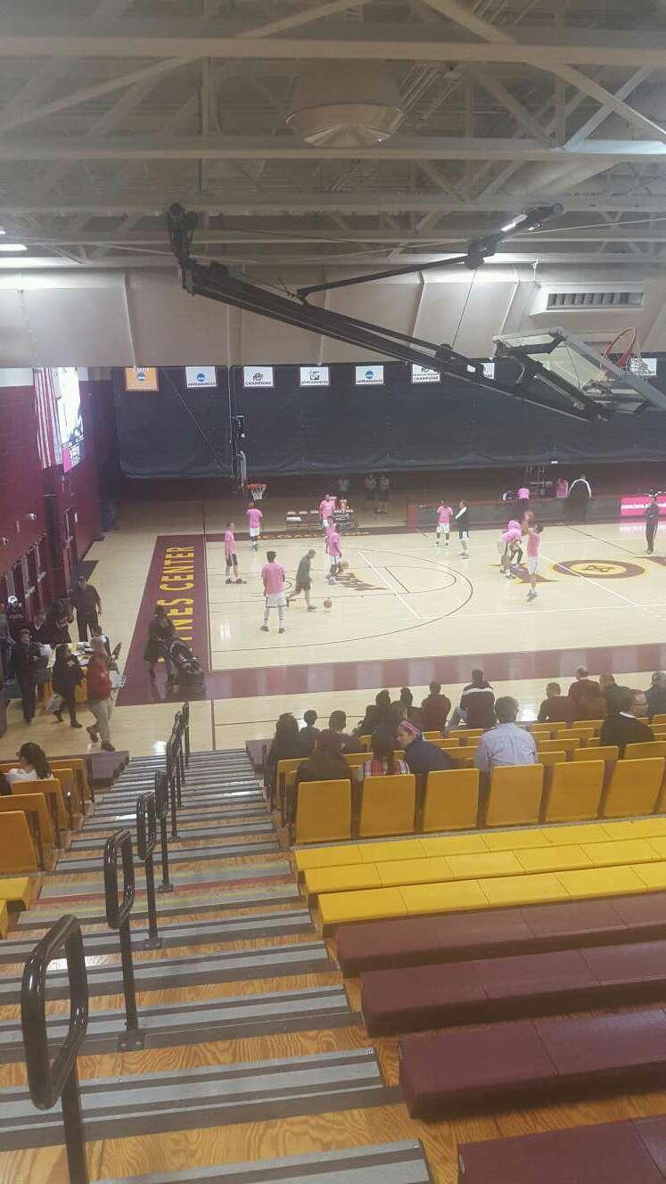 Hynes Athletic Center Vak 15 Rij V Stoel 15