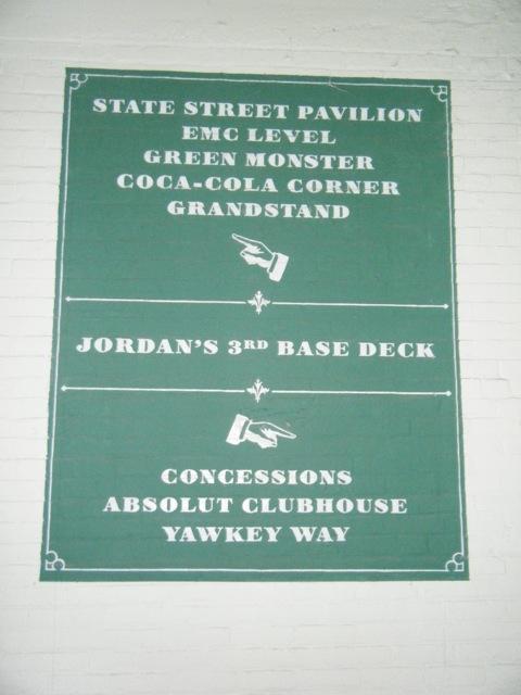 Fenway Park Vak 3rd Base Deck