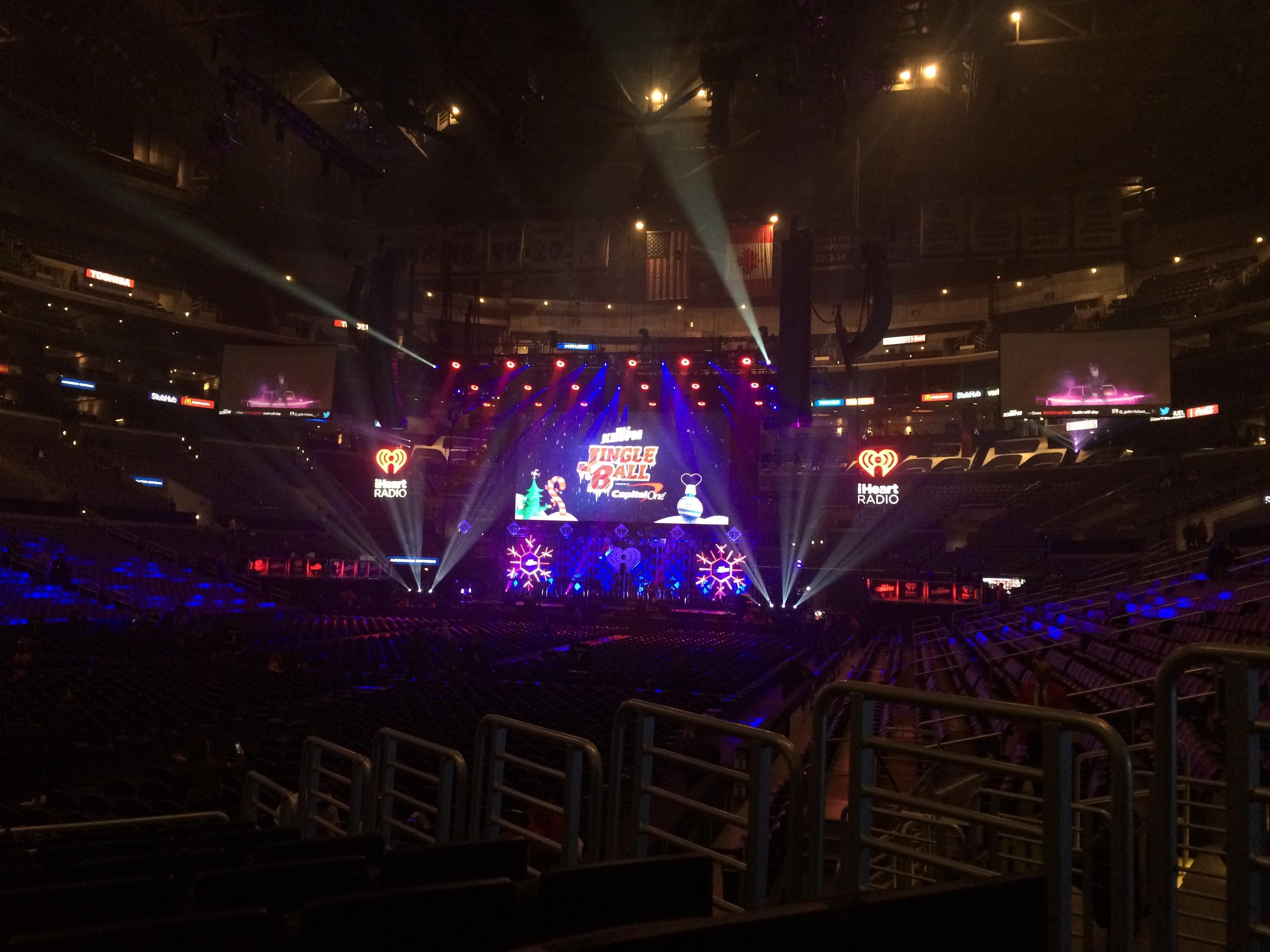 Staples Center Vak 105 Rij 10 Stoel 4