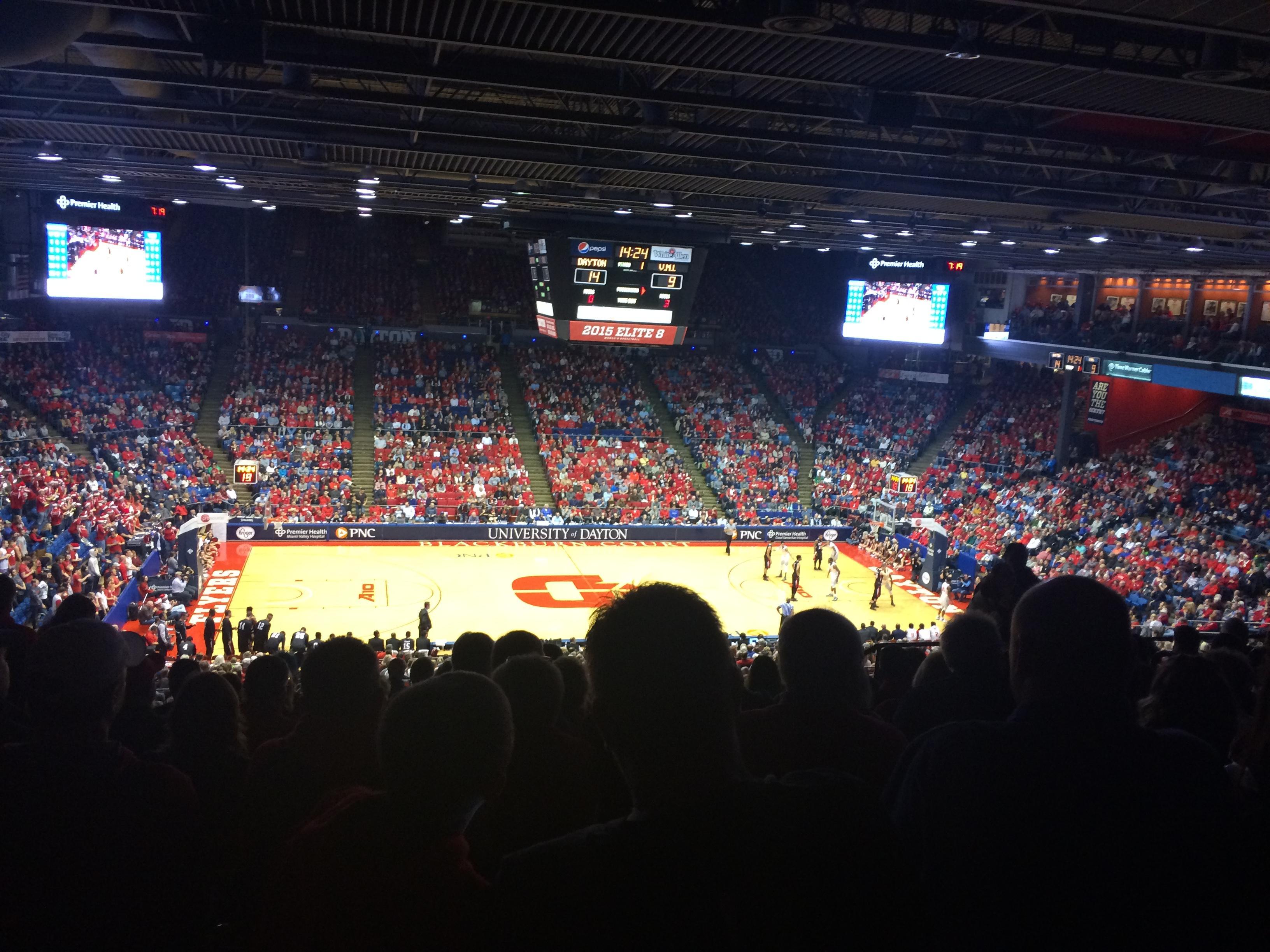University of Dayton Arena Vak 310 Rij K Stoel 9