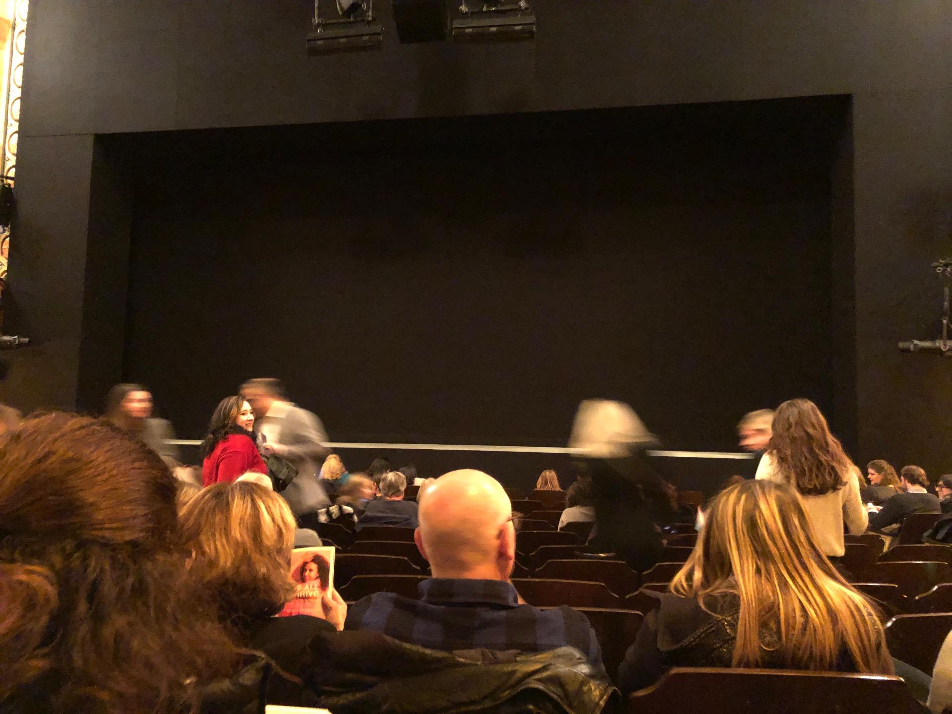 Bernard B. Jacobs Theatre Vak Orchestra C Rij K Stoel 104