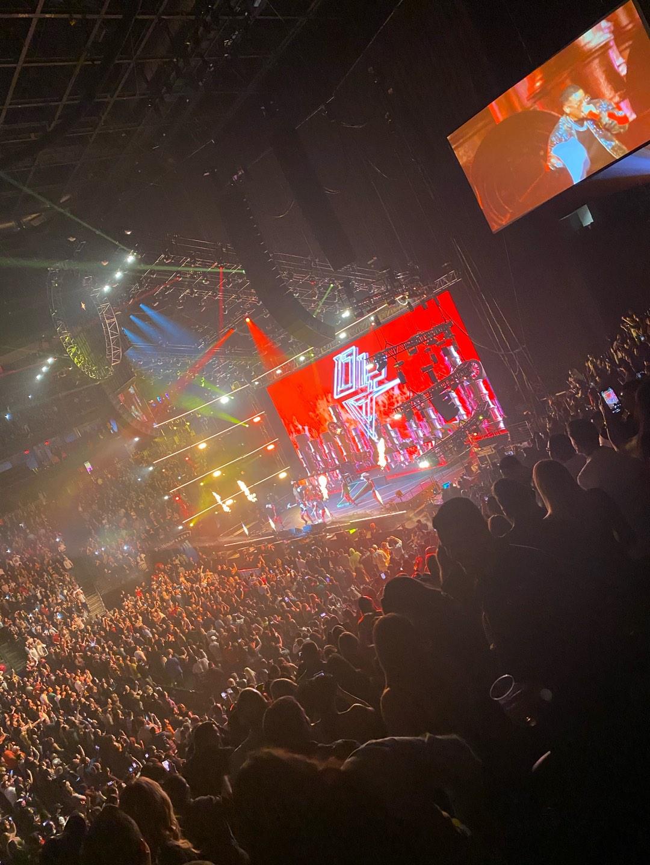 T-Mobile Arena Vak 16 Rij T Stoel 12
