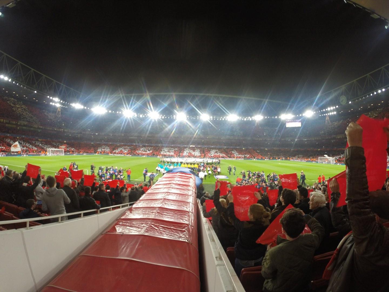 Emirates Stadium Vak 32 Rij 17