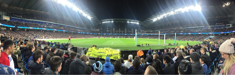 Etihad Stadium (Manchester) Vak 137 Rij D Stoel 1040