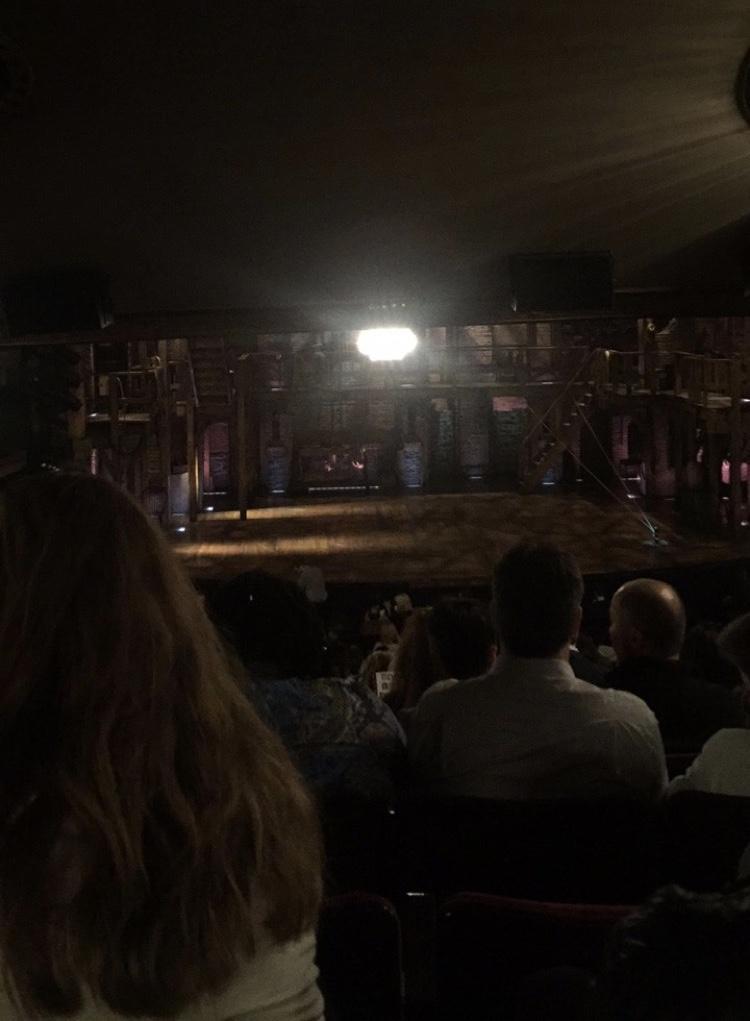 Richard Rodgers Theatre Vak Orchestra C Rij W Stoel 110
