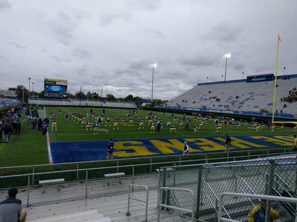 Delaware Stadium Vak hh Rij l Stoel 4