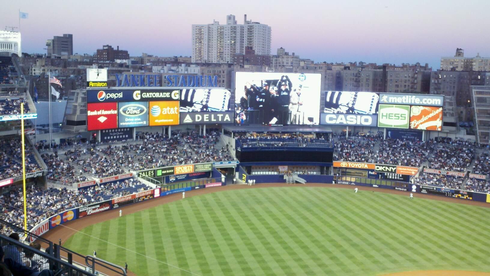 Yankee Stadium Vak 422 Rij 5 Stoel 20
