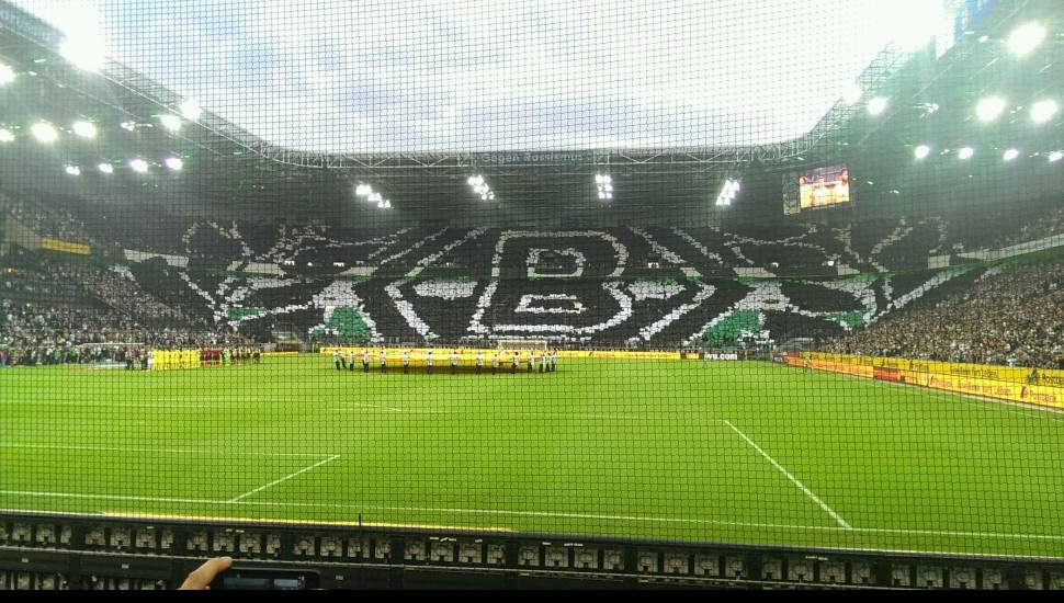 Borussia Park,  Vak <strong>B1</strong>, Rij <strong>8</strong>, Stoel <strong>7</strong>