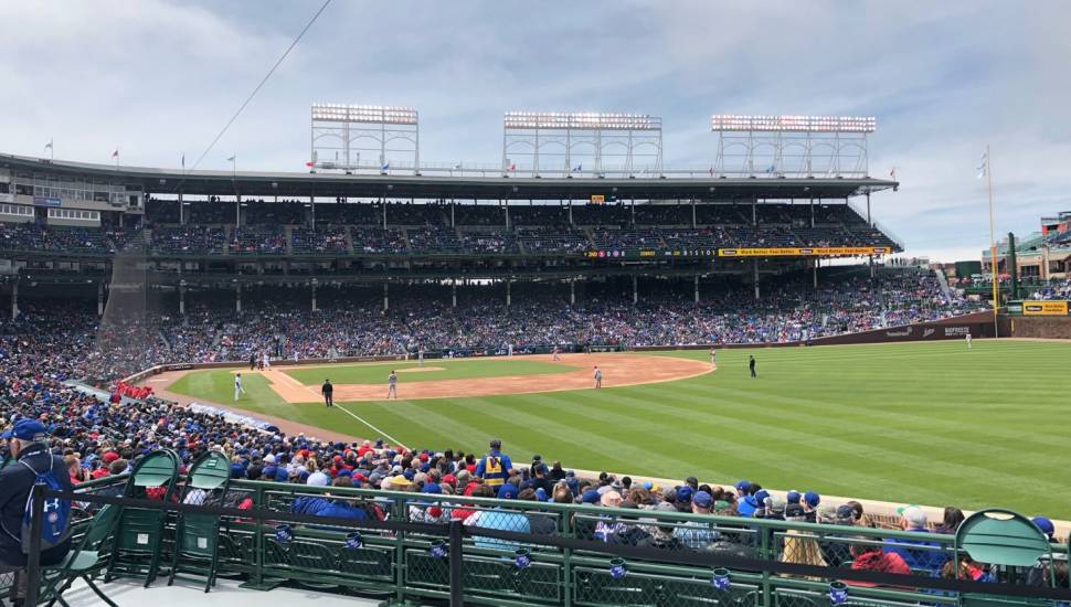 Wrigley Field,  Vak <strong>230</strong>, Rij <strong>10</strong>, Stoel <strong>14</strong>